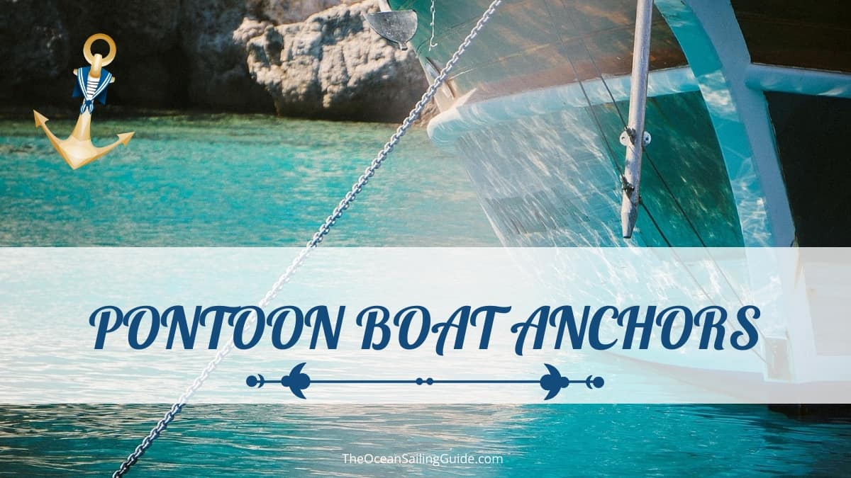 pontoon boat anchor