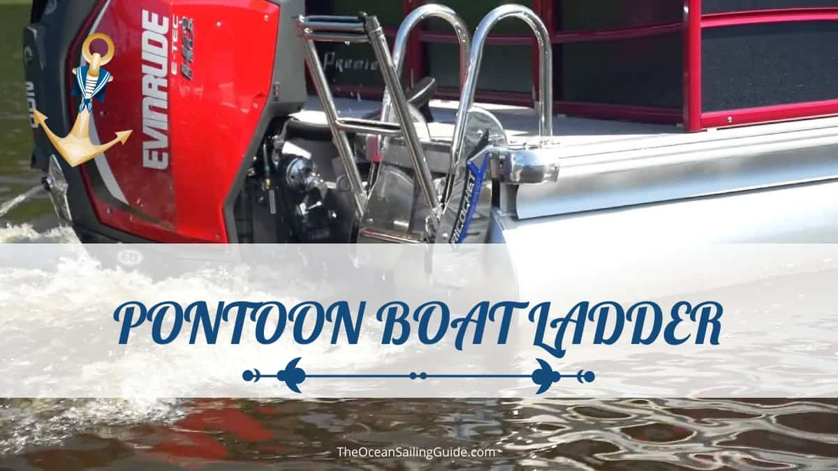 best pontoon boat ladder