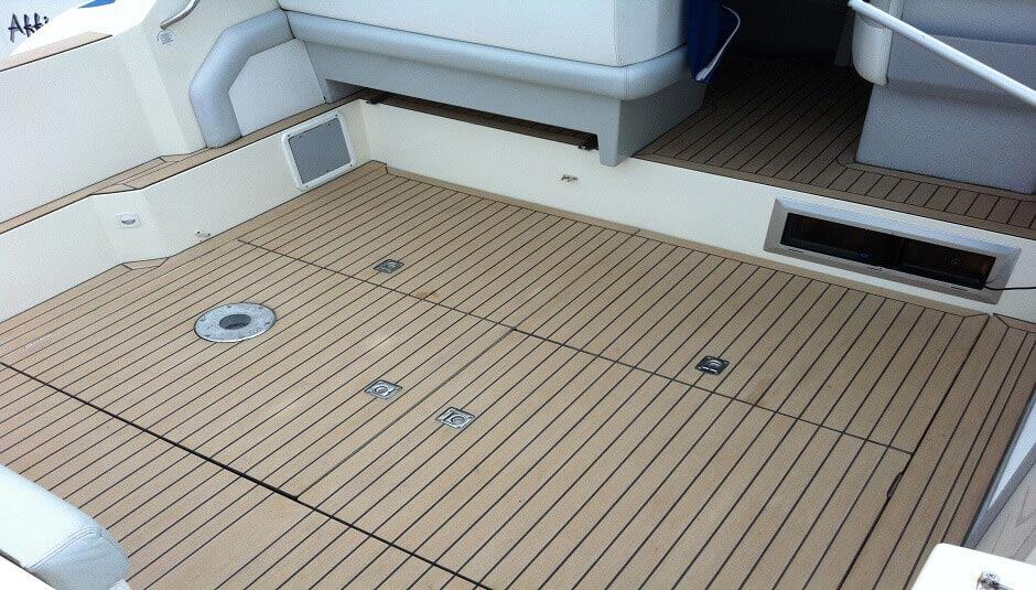 rubber pontoon boat flooring