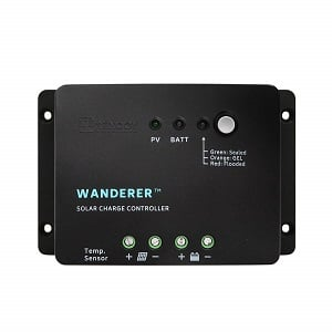 Renogy Wanderer - 30A Advanced PWM Negative-Ground Solar Charge Controller