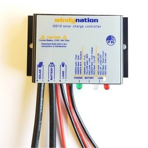 WindyNation Waterproof 10A 12V Solar Charge Controller
