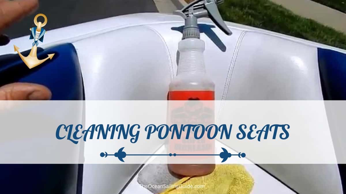 how to clean boat seats