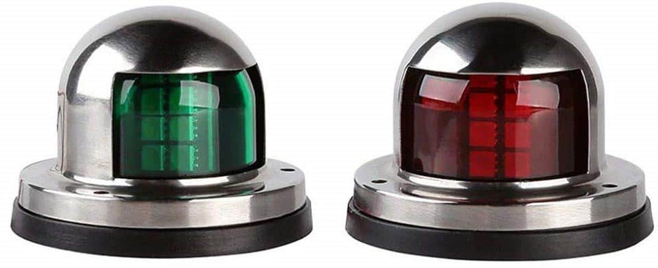 LEANINGTECH One Pair Marine Boat Yacht Light