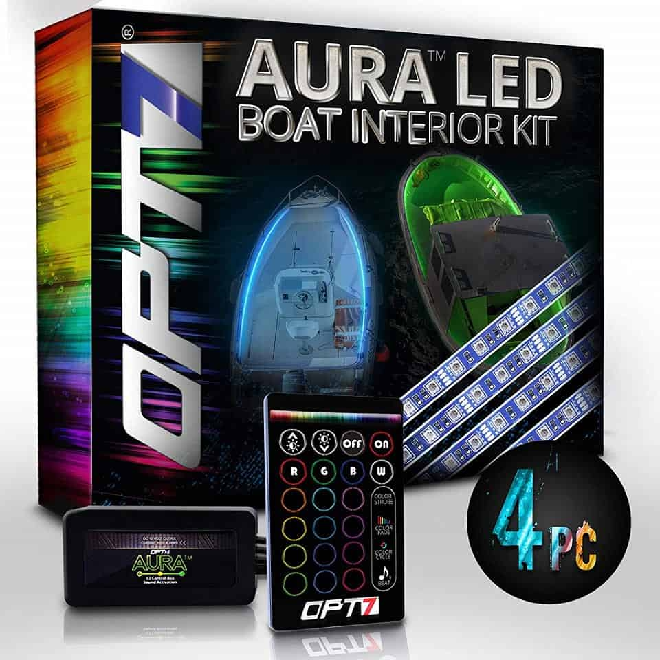 OPT7 Boat Interior Glow LED Lights