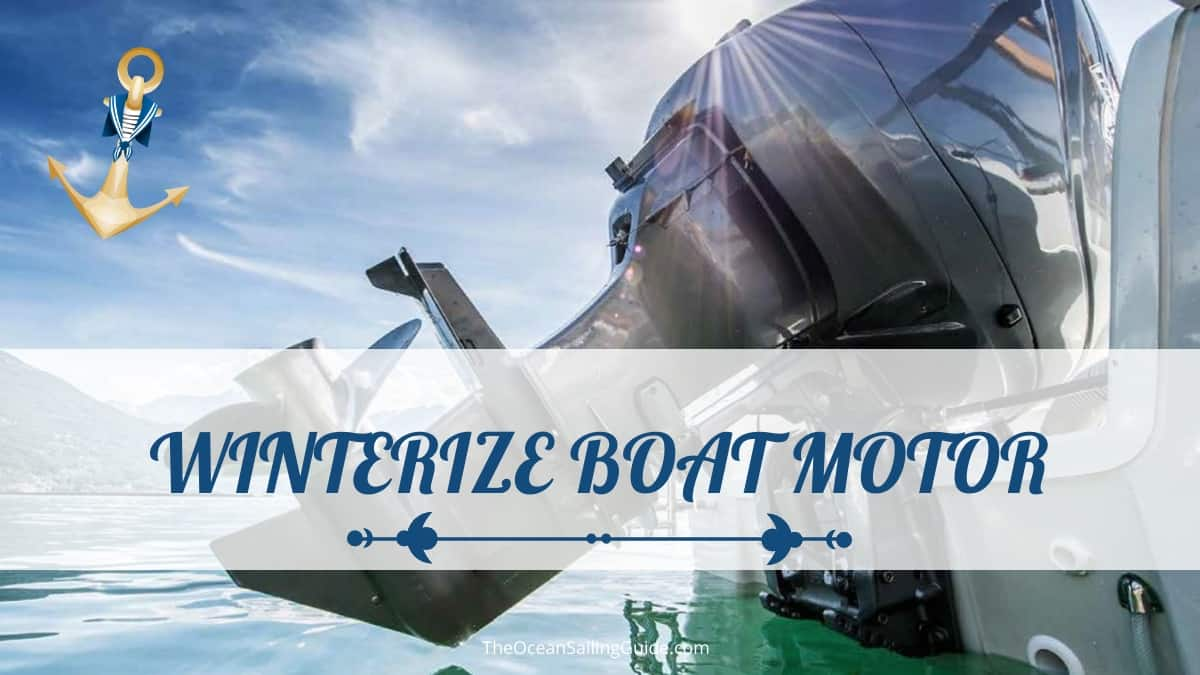 How to Winterize a Boat Motor