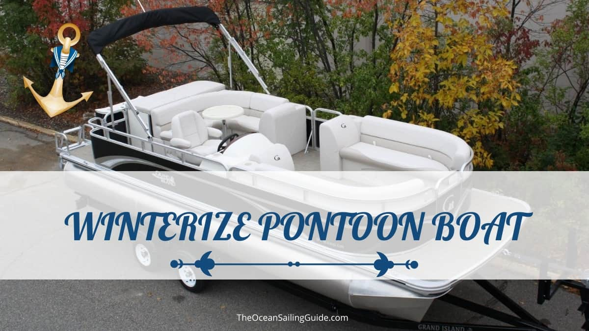 how to winterize pontoon boat