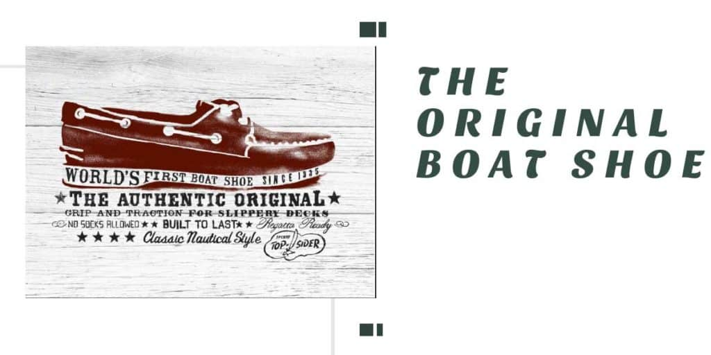 original Sperry boat shoes for sailing