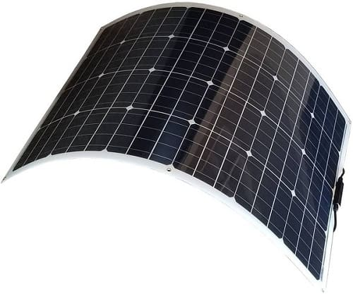 Bendable Flexible Thin Lightweight Monocrystalline Solar Panel