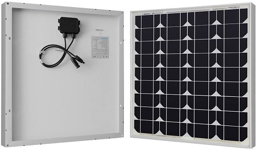 Renogy 50W 12V Power Monocrystalline Solar Panel